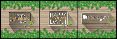 Abstrackt of St.Patricks Day, Background Design, Vector and Illustration, EPS 10.