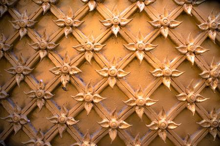 Stucco wall of Wat Thai in Nakhon Pathom