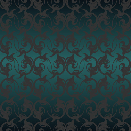 royal background: Vector repeating pattern with floral ornament in vintage style.