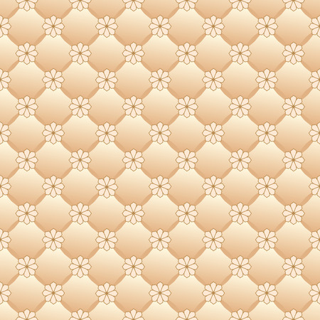 Vector repeating pattern of the upholstery. Vector