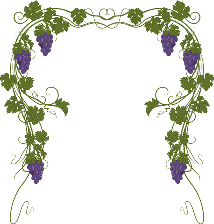ビンテージ スタイルのブドウを使用してテキストの背景。