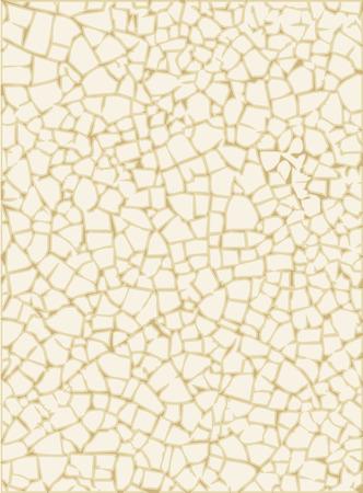 Grunge texture constitué de fines fissures sur la surface vitrée. Vecteurs