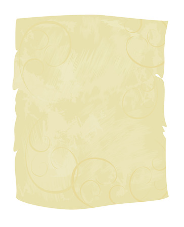 Grunge texture of parchment. Vector design grunge paper texture or background.