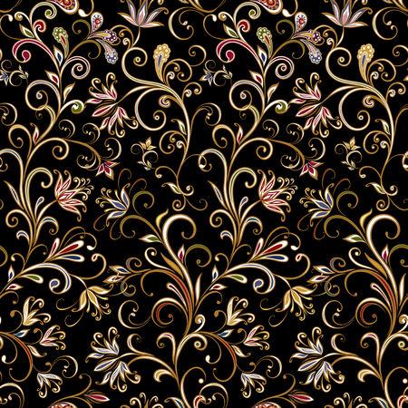 Seamless pattern in ethnic traditional style. Banque d'images - 121437518