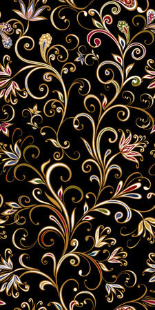 Seamless pattern in ethnic traditional style. Banque d'images - 121437516