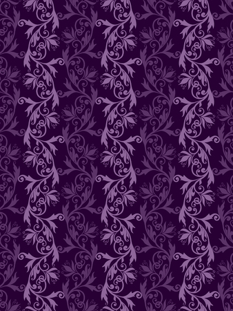 Volumetric seamless floral pattern background. Banque d'images - 121437531