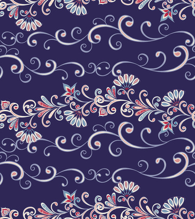 Seamless pattern in ethnic traditional style. Banque d'images - 121437578