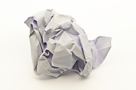 shoot to a crumpled paper ball