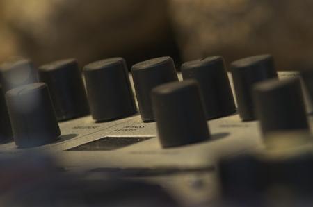 Séance de prise de vue sur des appareils audio
