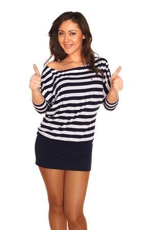 Girl in dress photo