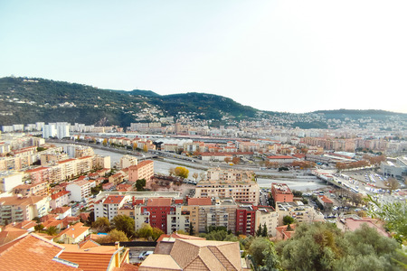 quarters: Residential quarters, Nice, France Stock Photo
