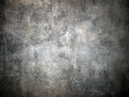 Picture of the grunge gray wall photo