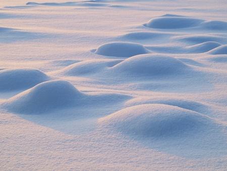 snowdrifts: Sunny snowdrifts      Stock Photo