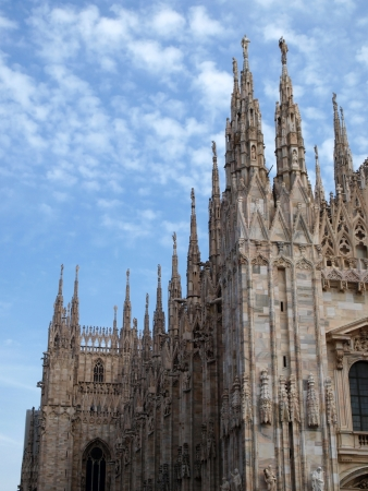 Duomo in the Milan, Italy         photo