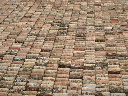 Castle roof tiles Stock Photo - 8626477