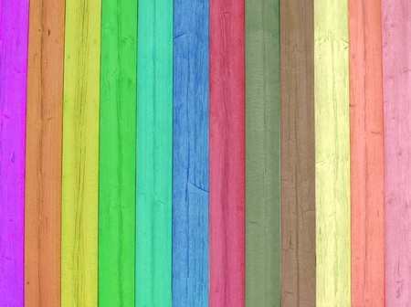 Bright and colored wooden background      photo
