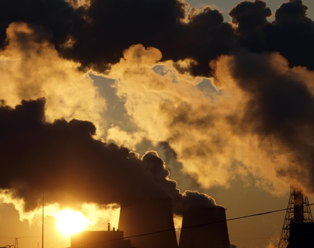 Industry pollution photo