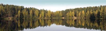 Goldener Herbst Panorama
