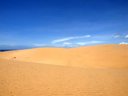Sandy desert  Vietnam  Mui ne