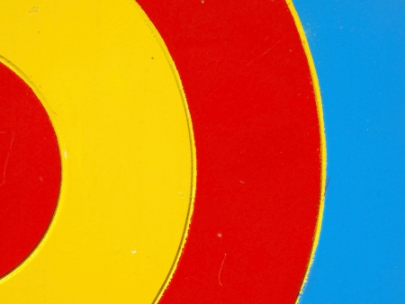 Colored wooden target  Background       photo