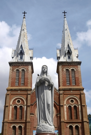 Cathedral in Saigon         photo