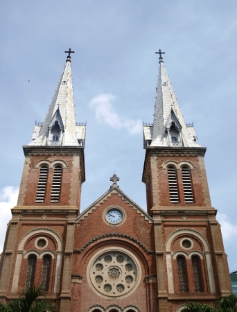 Notre Dam cathedral in Ho Chi Minh city        photo