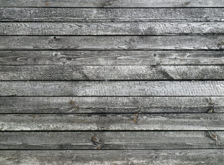 Old grey wooden background     photo