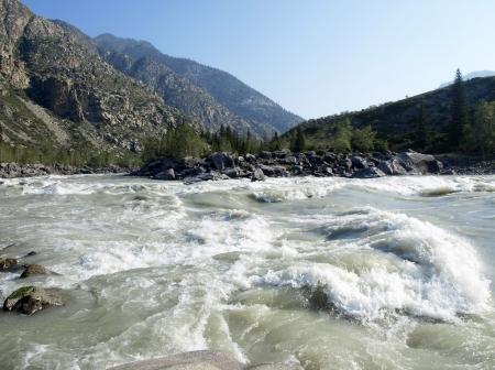 Katun river Stock Photo - 15817201