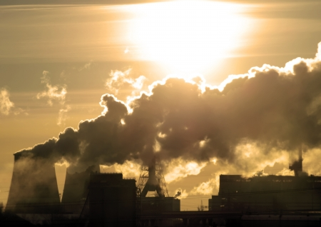 Danger! Air pollution! Stock Photo - 17529913