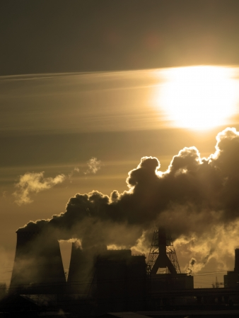 Danger! Air pollution! Stock Photo - 17529923