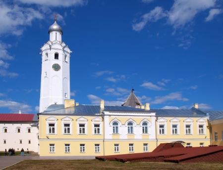 novgorod: Clock tower in Novgorod