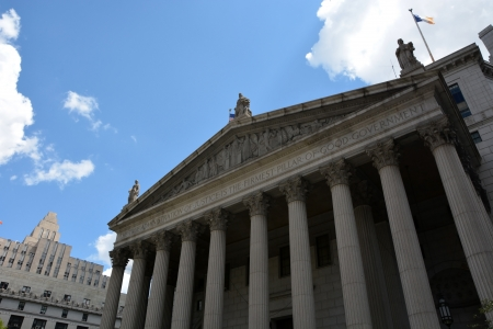 United States District Court building located in New York City