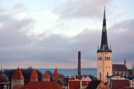 Tallinn from the top photo