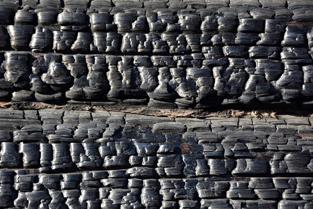 Burnt wood  Picture can be used as a background photo