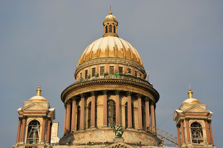 isaac: The famous St. Isaac cathedral, the symbol of Saint-Petersburg city