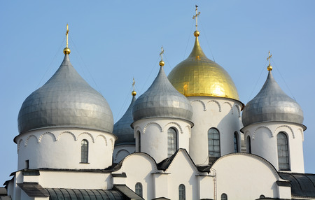 godly: Cupola of the St. Sofia cathedral in Veliky Novgorod