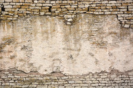 split level: Ancient wall. Picture can be used as a background