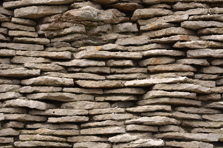 split level: Ancient brick wall as a background. Closeup view Stock Photo