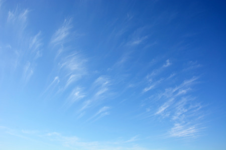 stratus: Daytime sky with stratus clouds as a backgrounds Stock Photo