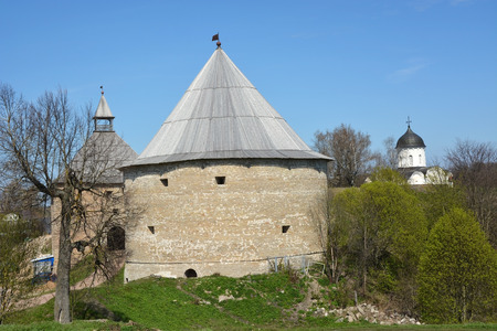 ladoga: Ancient fortress at Staraya Ladoga city, Russia