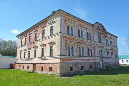 ladoga: Staraya Ladoga St. Nicholas monastery on the banks of the Volkhov river Editorial