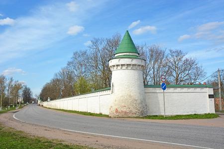 ladoga: Holy Dormition convent in Staraya Ladoga, Russia Editorial