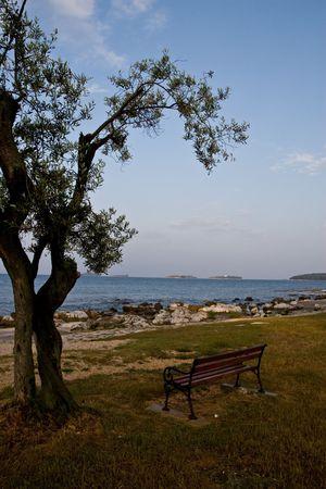 croatian: Croatian landscape Stock Photo
