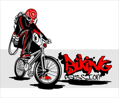 bmx: biking passion
