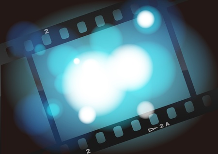 movies film  background with space for your text or image Stock Photo - 9919482
