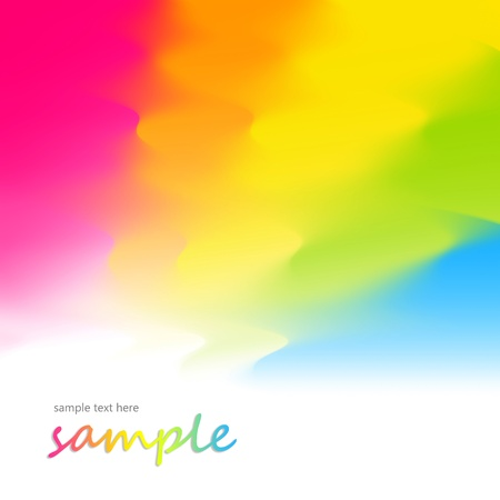 Abstract multicolour gradual background