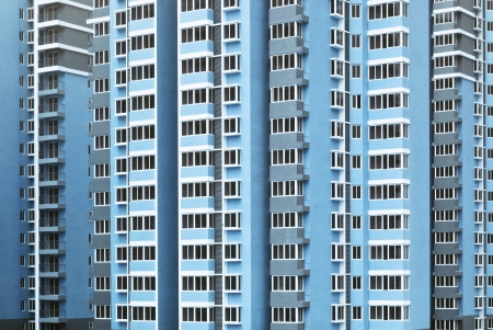 Modern stad byggnad bakgrund