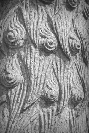 ancient lion: Chinese ancient stone sculpture: lion