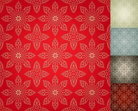 muralla china: China damasco sin fisuras papel tapiz de fondo