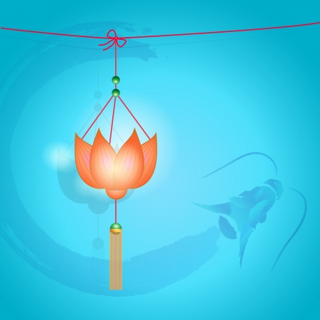 mid autumn: traditional of Chinese Mid Autumn Festival or Lantern Festival